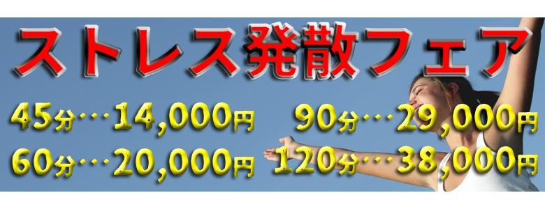 5/1〜『ストレス発散フェア』開催!